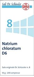 Natrium chloratum 8 schuss 6 dh 50 g