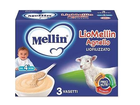 Liomellin agnello liofilizzato 10 g 3 pezzi
