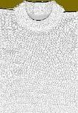 Collare cervicale traforato per uomo. articolo az 1d colorebianco