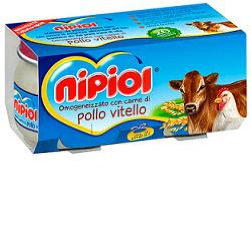 NIPIOL OMOGENIZZATO VITELLO POLLO 2X80