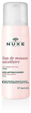 Nuxe eau de mousse micellare ai petali di rosa 50 ml