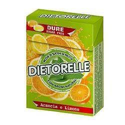 Dietorelle caramelle dure arancia/limone con stevia 40 g