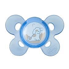Chicco succhietto ph comfort blu lattice 4 mesi + 1 pezzo caucciu'