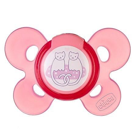 Chicco succhietto ph comfort rosa silicone 4 mesi + 1 pezzocaucciu'