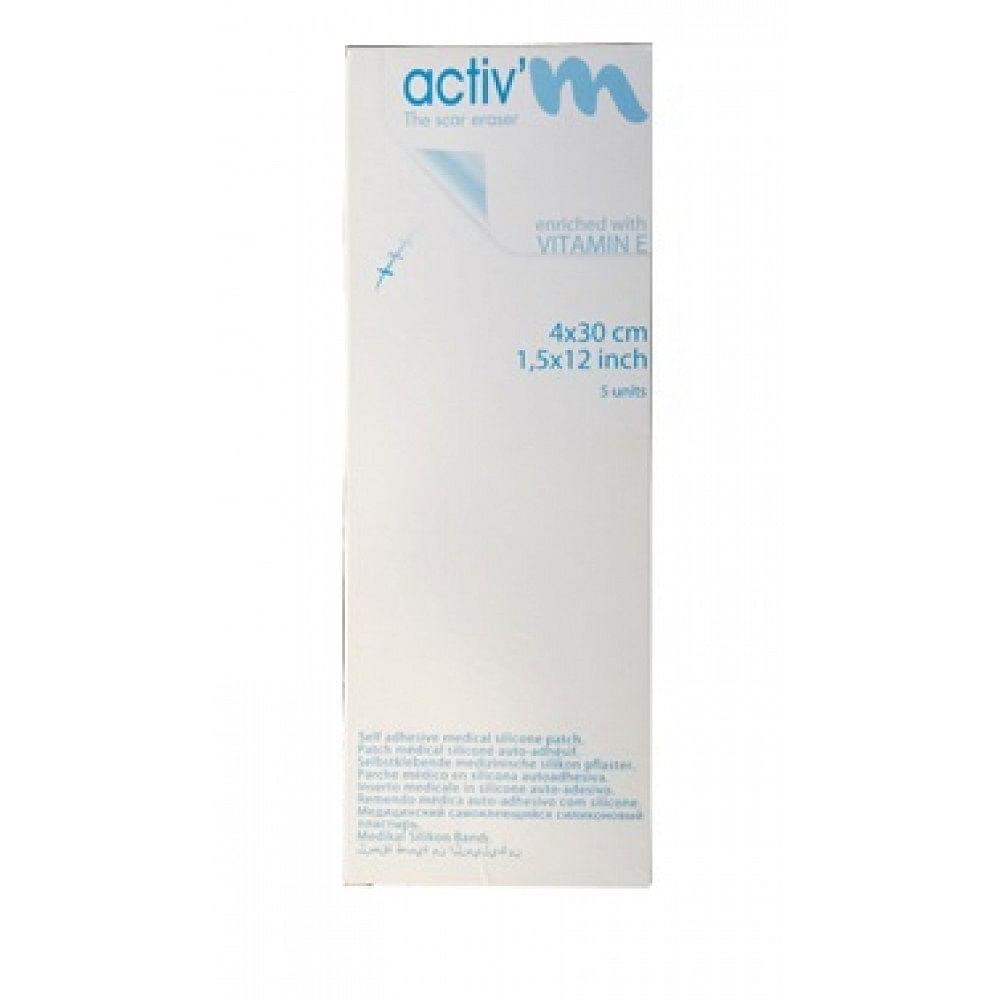 Cerotto activm 4x30cm confezione 5 pezzi
