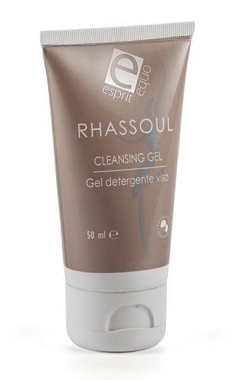 Esprit equo rhassoul cleansing gel argan e rosa damascena bio 50 ml