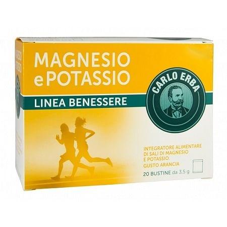 Carlo erba magnesio e potassio 20 bustine