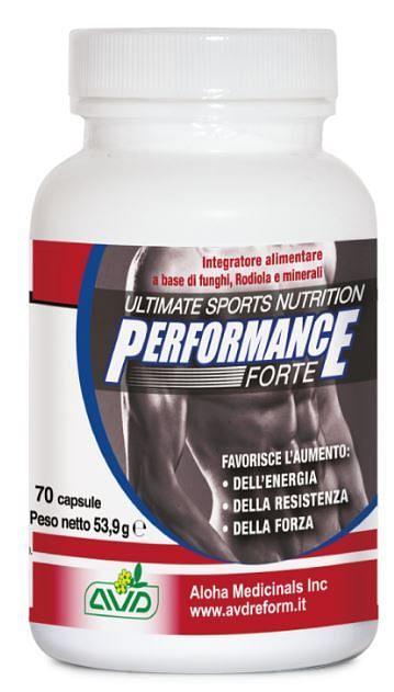 Performance forte 70 capsule flacone 53,9 g