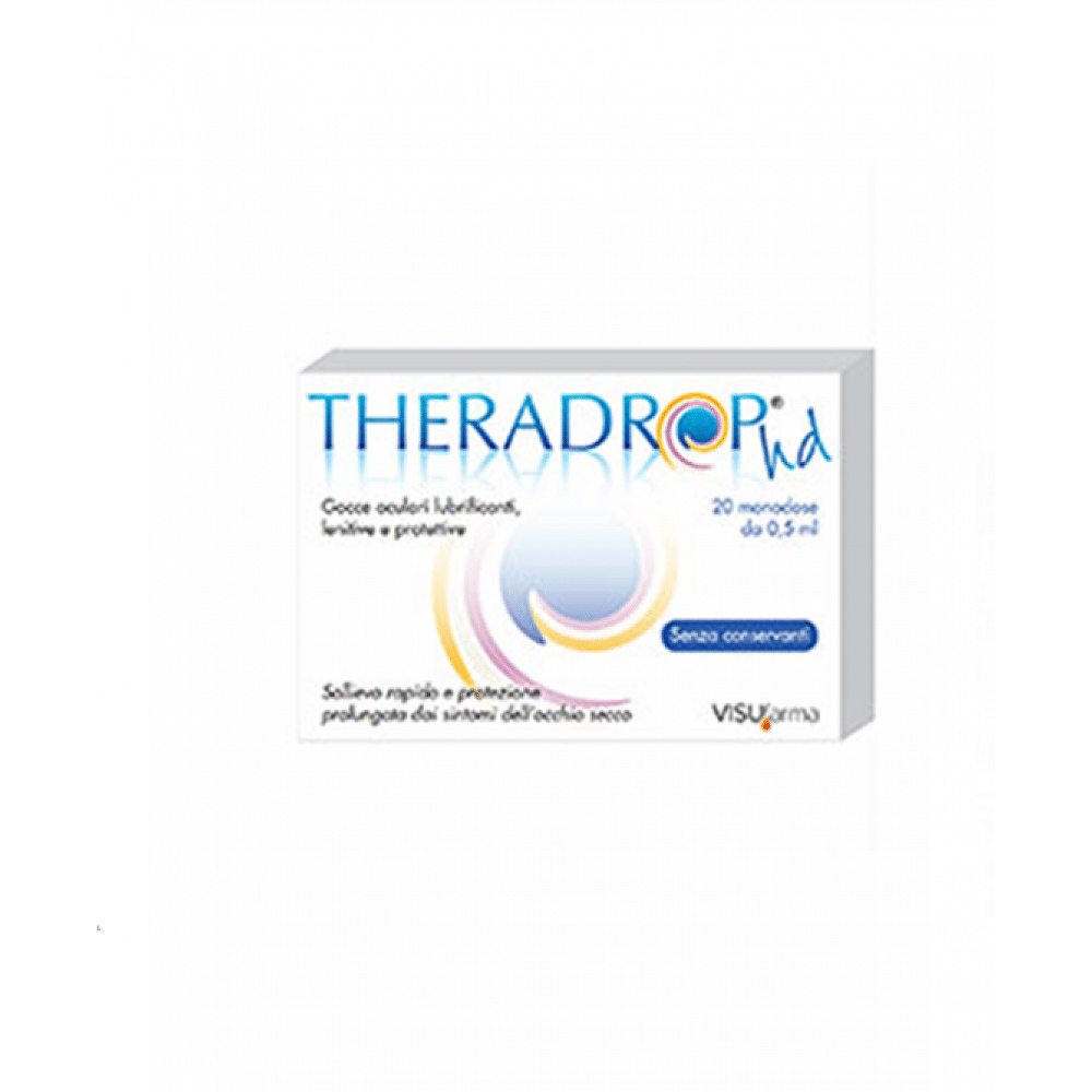 Gocce oculari theradrop hd 20 fiale 0,5 ml