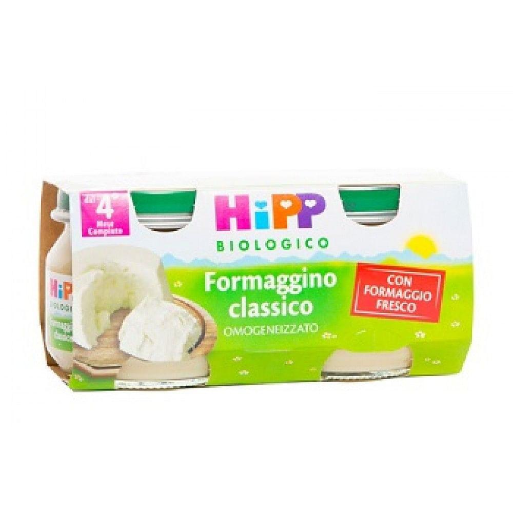 Hipp bio hipp bio omogeneizzato formaggino classico 2x80 g