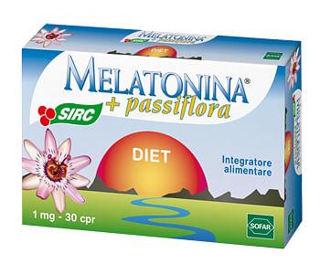 Melatonina diet 30 compresse