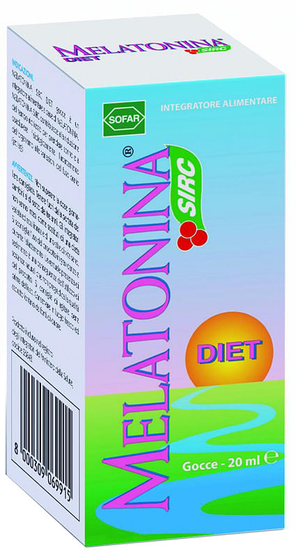 Melatonina gocce diet 20 ml