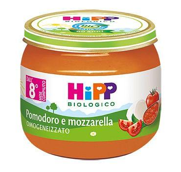 Hipp bio hipp bio omogeneizzato sugo pomodoro mozzarella 2x80 g