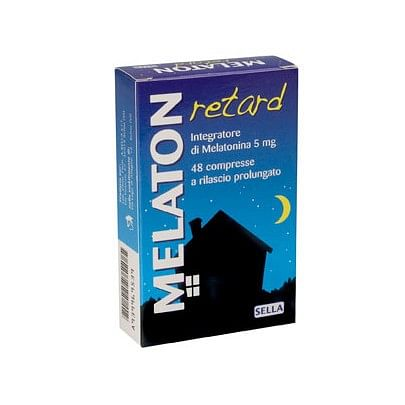 Melaton retard 1 mg 48 compresse