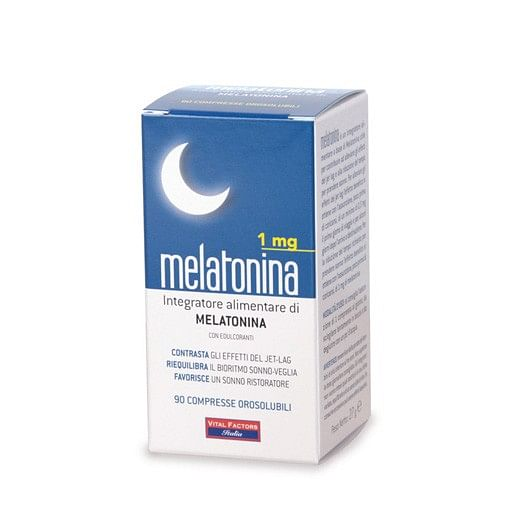 Melatonina 1 mg 90 compresse