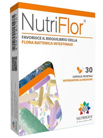 Nutriflor blister 30 capsule vegetali astuccio 15,45 g nuovaformula
