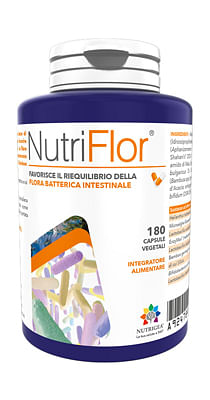 Nutriflor flacone 60 capsule vegetali astuccio 92,7 g nuovaformula