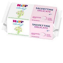 Hipp salviettine delicate pacco scorta 2x56 pezzi