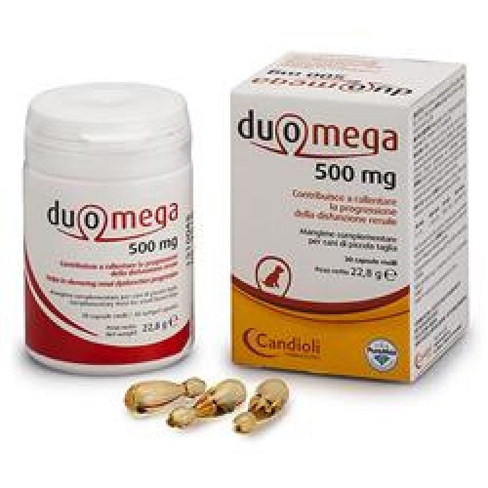 Duomega cani piccoli 30 capsule molli 500 mg