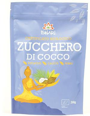 Zucchero di cocco bio 250 gr