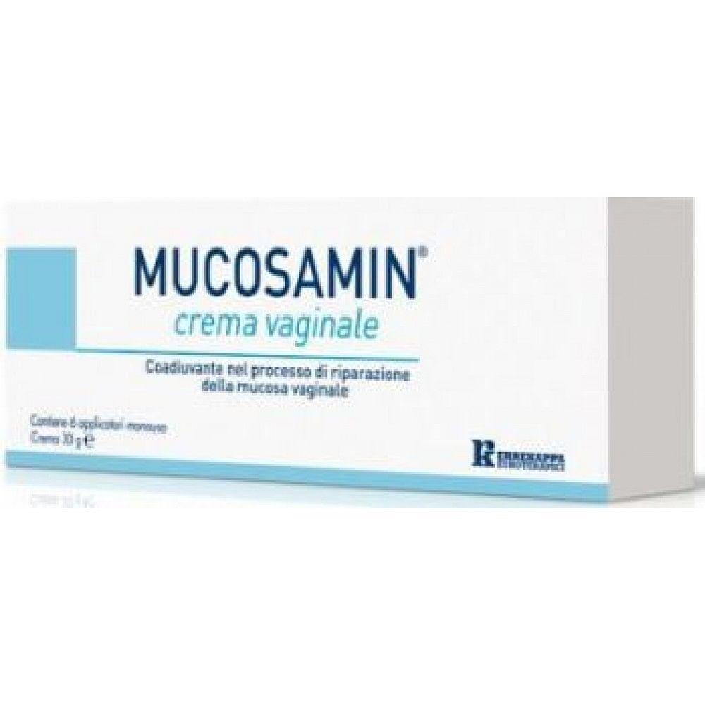 Crema vaginale mucosamin 30 g + 6 applicatori monouso da 5 g