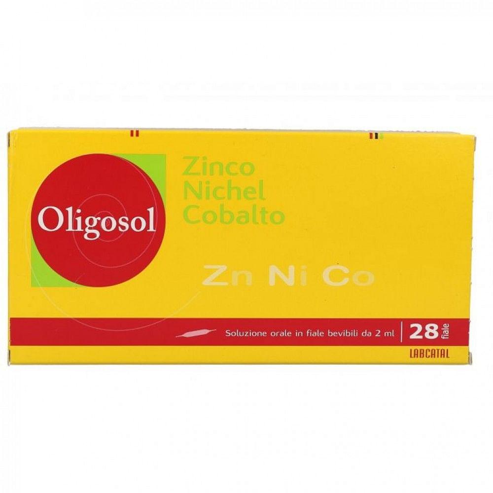 Labcatal oligosol zinco/nichel/cobalto 28 fiale 2 ml