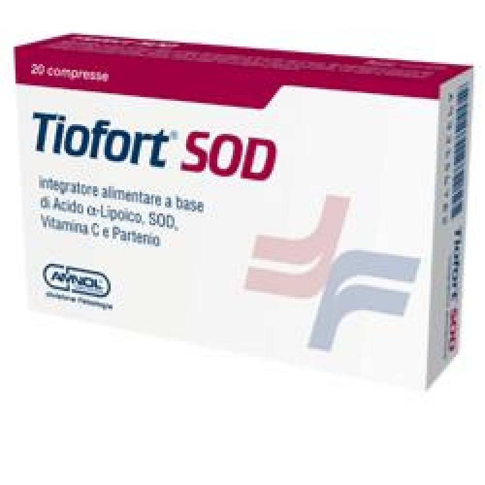 Tiofort sod 20 compresse 1000 mg