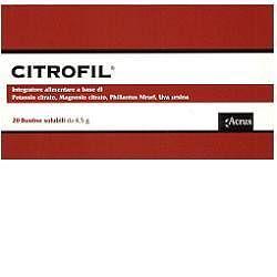 Citrofil 20 bustine 4,5 g