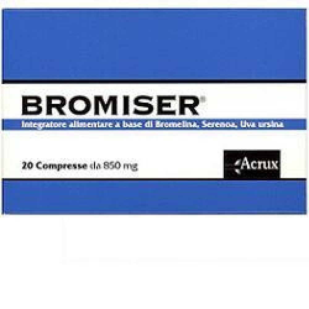 Bromiser 20 compresse 850 mg