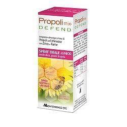 Propolimix defend spray orale junior analcolico 30 ml gustofragola