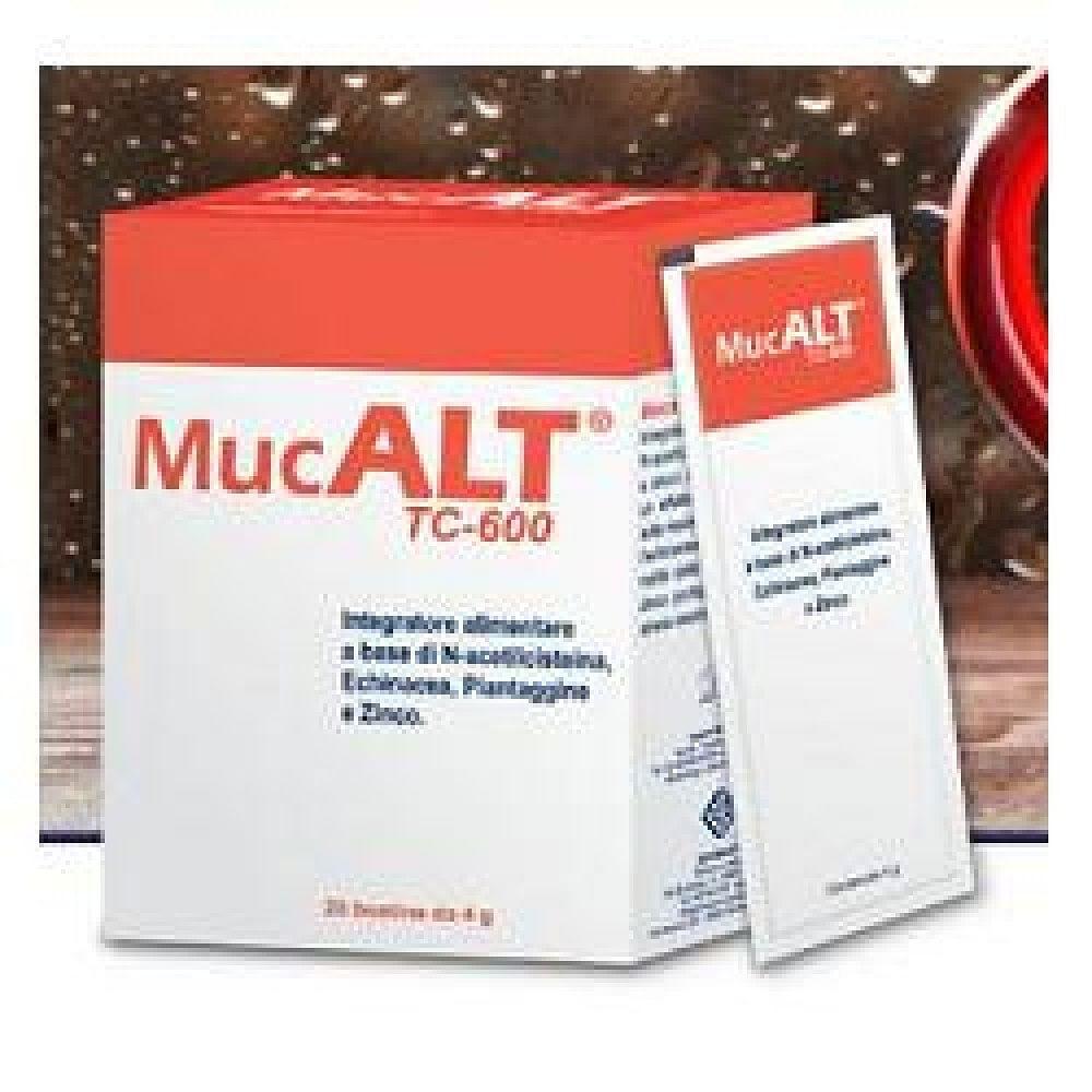 Mucalt tc-600 20 buste 4 g