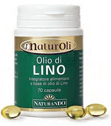I naturoli olio di lino 70 capsule