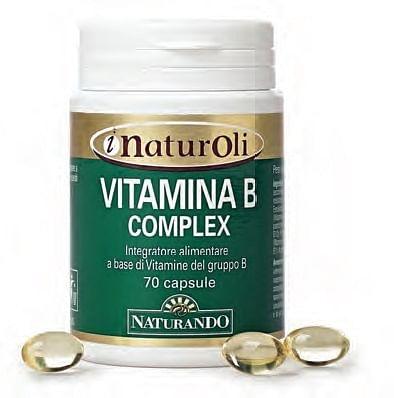 I naturoli vitamina b complex 70 capsule