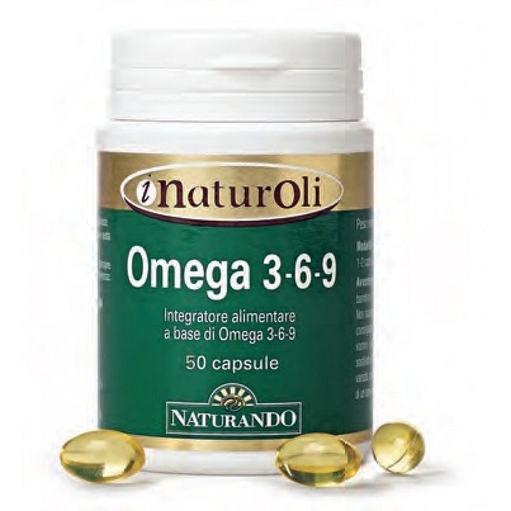 I naturoli omega 3-6-9 50 capsule