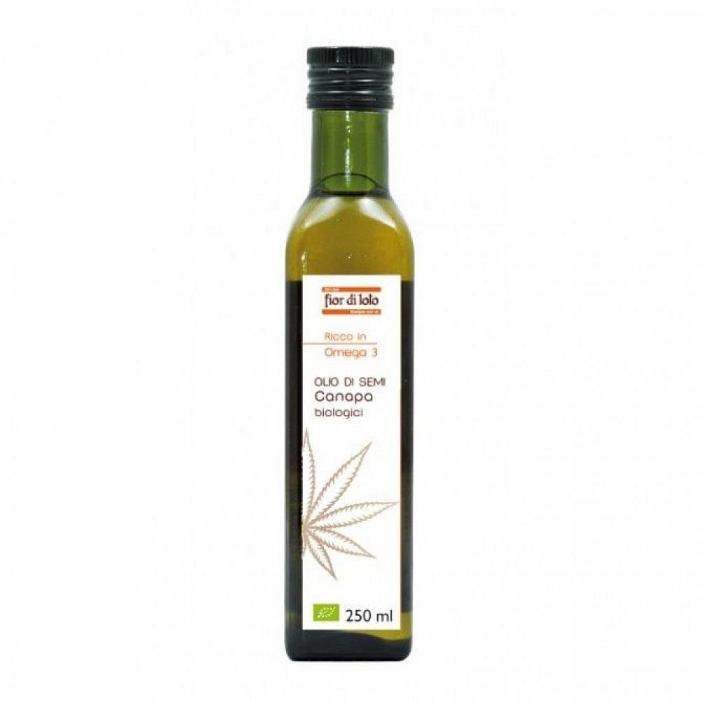 Olio semi canapa bio 250 ml