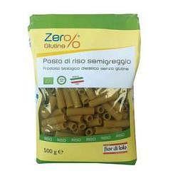 Zero% glutine rigatoni risone semigreggio senza glutine bio500 g