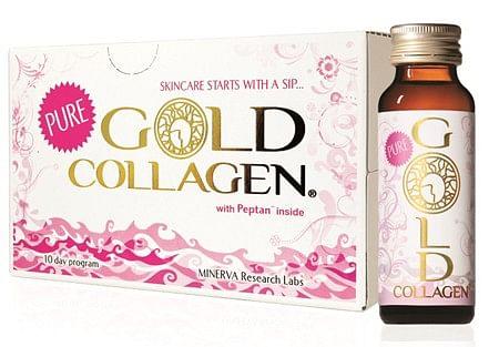 GOLD COLLAGEN PURE 10 FLACONI