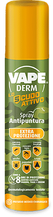 Vape derm lo scudo attivo spray 100 ml