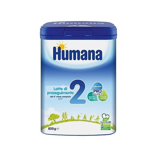 Humana 2 800 g natcare mp