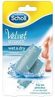 Velvet smooth wet and dry ricarica