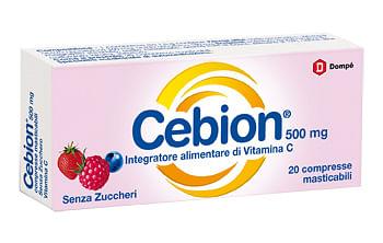CEBION MASTICABILE S/Z VIT C 20 COMPRESSE