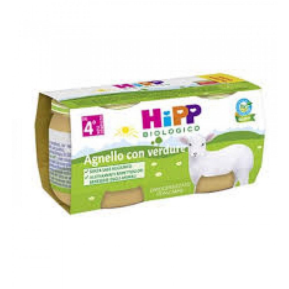 HIPP BIO OMOGENIZZATO AGNELLO 80G 2PZ