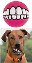 Grinz ball large pink