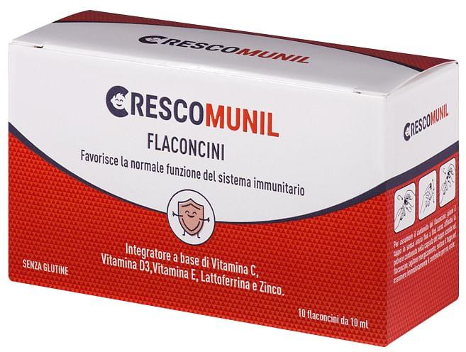 CRESCOMUNIL 10 FIALE 10ML