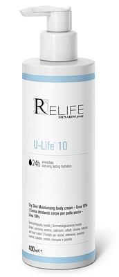 U-life 10 crema idratante corpo per pelle secca 400 ml