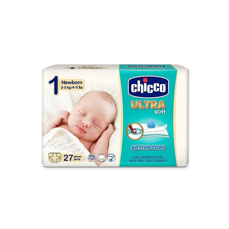 CHICCO PANNOLINO ULTRA NEWBORN 27P