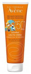 Eau thermale avene solare latte bambino spf 50+ 250 ml nuova formula