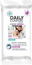 Daily comfort senior panni detergenti igiene intima 60 pezzi