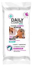 Daily comfort senior panni igiene corpo 24 pezzi