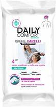 Daily comfort senior panni shampoo 4 pezzi